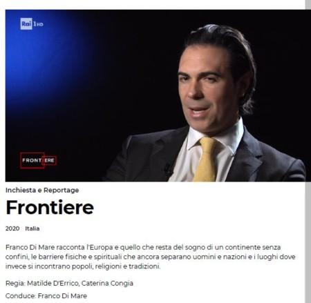 """Emergenza Coronavirus sul web: l'intervista a """"Frontiere"""" su Rai 1"""