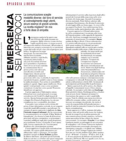 Gestire l'emergenza: sei approcci