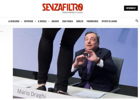 """""""Mario Draghi non ha i social, la politica è nuda?"""": l'intervista con Stefania Zolotti su SenzaFiltro"""